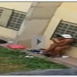 Novinha caiu na net fudendo no fundo da escola