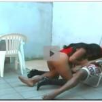 Novinha bunduda fudendo com primo na casa dele