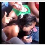 Novinhas safada pagando boquete no carro