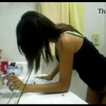 Primo comendo a prima novinha no banheiro