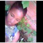 Novinha caiu na net fudendo no matagal