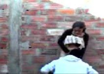 Novinha da favela flagrada metendo na contrução