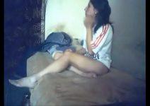 Novinha da favela fudendo no barraco