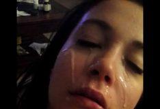 Melando a cara da novinha de porra