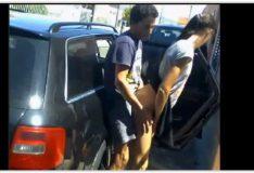 Novinha caiu no WhatsApp fudendo em rua de Salvador